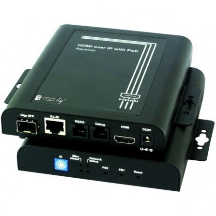 Trasmettitore Extender HDMI over IP con PoE e Funzione Video Wall