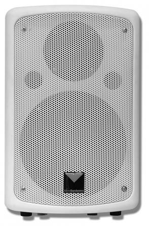 Coppia di diffusori attivi t&mSystems 6.5PA/WH, 50Wx2