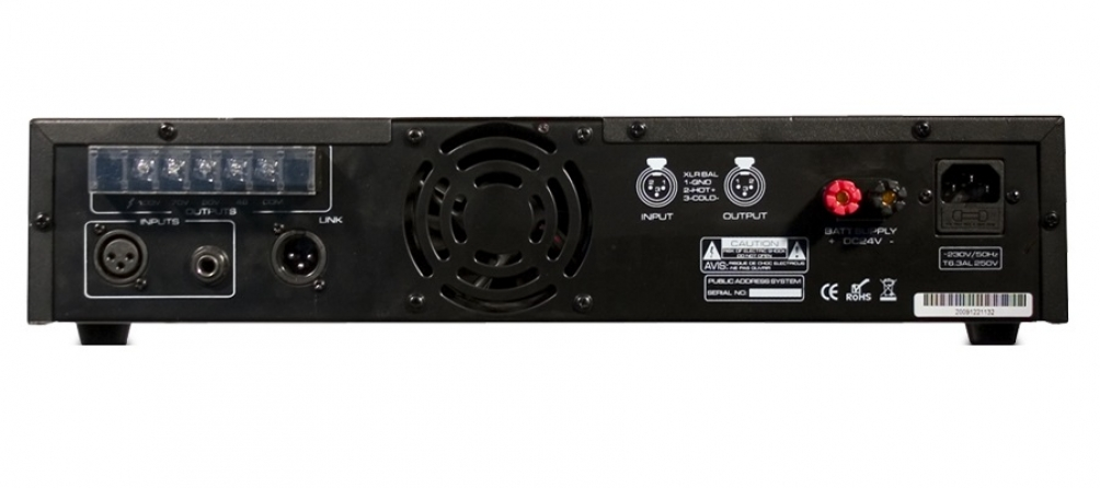 Amplificatore audio monofonico T&M Systems PROJECT240P