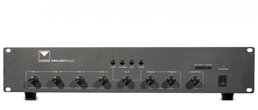 Mixer amplificato T&M Systems PROJECT240