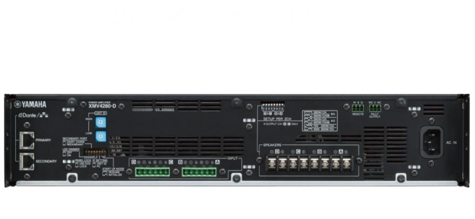 Amplificatore classe D Yamaha XMV4280D, 4 canali