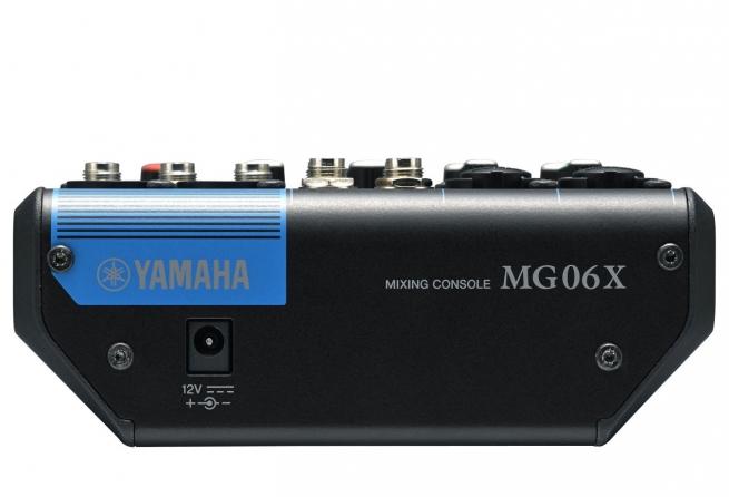 Mixer analogico Yamaha MG06X, 6 canali con effetti