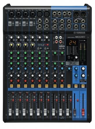 Mixer analogico Yamaha MG12XU, 12 canali con banco FX