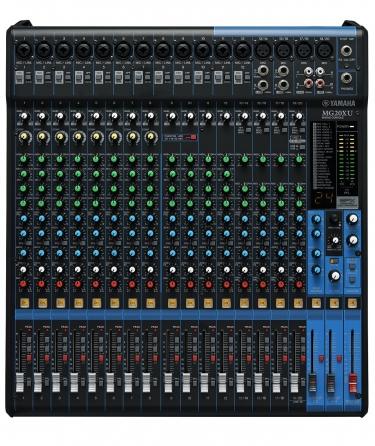 Mixer analogico Yamaha MG20XU, 20 canali con banco FX