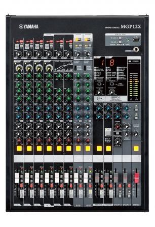 "Mixer analogico ""Premium"" Yamaha MGP12X, 12 canali con doppio banco FX"