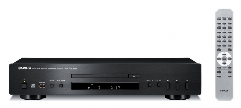 Lettore multimediale Yamaha CDS300BLRK
