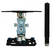"""Supporto professionale per videoproiettore """"Arakno-mini"""" con regolazione micrometrica 83/123cm (nero)"""