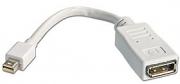 Adattatore Mini DisplayPort Maschio a DisplayPort Femmina