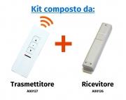 """Comando radio a distanza """"Premium"""" ad 1 canale e 3 pulsanti"""