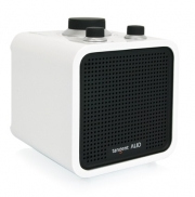 "Radio portatile Wireless FM/AM Tangent ""ALIO Junior"", (bianco lucido)"