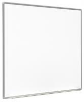 """Lavagna magnetica """"Decor"""" in acciaio smaltato bianco per scrittura e proiezione interattiva 180x120cm 77"""" 4:3"""
