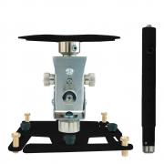 """Supporto professionale per videoproiettore """"Arakno"""" con regolazione micrometrica 131/196cm (nero)"""