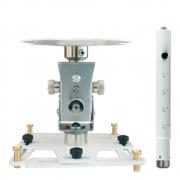 """Supporto professionale per videoproiettore """"Arakno-maxi"""" con regolazione micrometrica 133/198cm (bianco)"""