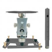 """Supporto professionale per videoproiettore """"Arakno-maxi"""" con regolazione micrometrica 62/82cm (silver)"""