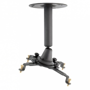 """Supporto da soffitto professionale per videoproiettore """"V-Pro"""" fisso da 15cm (dark)"""