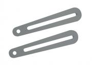 """Braccetto di estensione da 20cm per supporti professionali """"Arakno"""" e """"Arakno-mini"""" (silver)"""