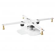 """Supporto da soffitto professionale ultra slim per videoproiettore """"Arakno-mini"""" 7cm (bianco)"""