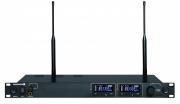 Ricevitore doppio UHF Beyerdynamic NE 912 banda 646-718 MHz