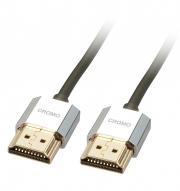 Cavo Slim HDMI High Speed A/A CROMO, 0.5m