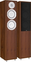 """Coppia di diffusori passivi a colonna a 2 vie Eltax """"Monitor IX"""", 140W (legno scuro)"""