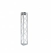 Traliccio triangolare in acciaio zincato bianco, 1000mm