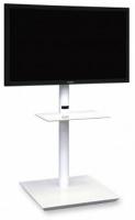"""Supporto per monitor da terra fisso, modello """"Handy Maxi"""", fino a 50"""", bianco"""