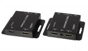 Extender HDMI & IR Cat.6 con porta HDMI locale, 50m