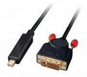 Cavo adattatore Mini DisplayPort a DVI-D Attivo, 5m