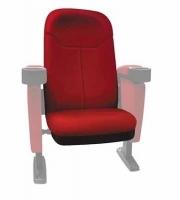 "Seduta per poltrona Home Cinema in tessuto Lumene ""Hollywood Confort"", (rosso)"