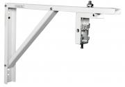 Staffe distanziatrici da parete per schermi proiezione 40cm (bianco)
