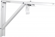 Staffe distanziatrici da parete per schermi proiezione 20cm (bianco)