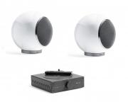 "Mini impianto stereo Hi-Fi con Bluetooth Elispon ""Mini Music system"" (bianco)"