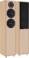 """Coppia di diffusori passivi a colonna a 2 vie Eltax """"Monitor IX"""", 140W (legno chiaro)"""