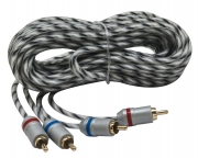 """Cavo audio RCA con contatti dorati Earthquake """"MT-RCA-15"""", 5mt"""