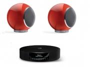 "Impianto stereo Hi-Fi con Bluetooth Elispon ""Music system"" (rosso)"