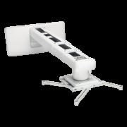 Kit di montaggio a parete bianco per videoproiettori ViewSonic PJ-WMK-305
