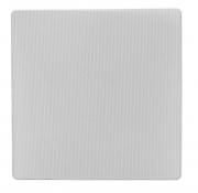 """Griglia frontale quadrata Earthquake """"SG-CS-6"""", per diffusori con diametro 6.5"""" (bianco)"""