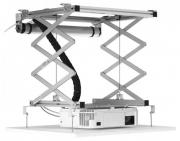 Elevatore motorizzato da controsoffitto per videoproiettori (con discesa 97cm, portata 15kg)