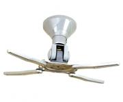 """Staffa a soffitto """"Basic"""" universale da 15cm per videoproiettore"""