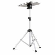 Tavolino professionale per videoproiettore su stativo con piano inclinabile 60x60cm