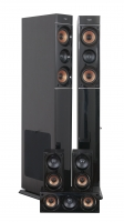 "Sistema audio surround Home Cinema 5.0 Tangent ""Aspect 5.0"", (nero)"