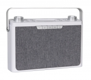 "Radio portatile Wireless FM/DAB/DAB+ con Bluetooth Tangent ""Pebble Radio"", (bianco)"
