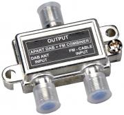 Combinatore per antenna DAB e FM Apart DAB-FM