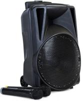 "Sistema audio portatile con Bluetooth e microfono Wireless Eltax ""Voyager 10 BT"", 250W (nero)"