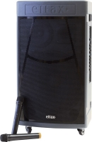 """Sistema audio portatile professionale con Bluetooth e microfono Wireless Eltax """"Voyager 15 BT PRO"""", 500W (nero)"""