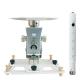 Supporto professionale per videoproiettore arakno-maxi con regolazione micrometrica 20cm + prolunga bianco