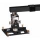 """Supporto professionale per videoproiettore da parete """"Arakno-wall"""" con regolazione micrometrica 60/90cm (nero)"""